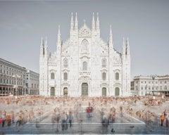 Piazza of Shadows, Milan, Italy
