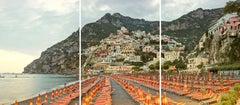 Positano, Amalfi Coast, Italy (Triptych)