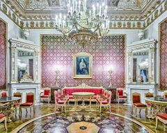 Red Room, Yusopof Palace, St Petersburg, Russia