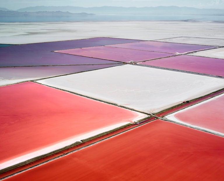 David Burdeny Color Photograph - Saltern Study 14, Great Salt Lake, UT