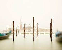 San Giorgio Maggiore with Gondola Station, Venice, Italy