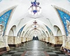Taganskaya Metro Station, Moscow, Russia