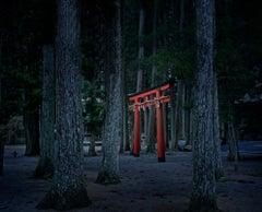 Torii Gate, Koyasan, Japan
