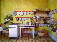 Yellow Kitchen, Havana, Cuba