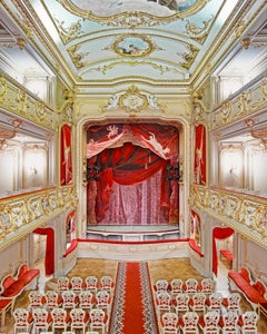 Yusopf Theatre Curtain, St Petersburg, Russia