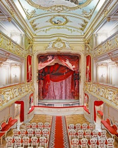 Yusupof Theatre (Curtain), St. Petersburg, Russia
