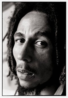 Profile of Bob Marley, Jamaica, 1976 by David Burnett