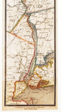 Historic Hudson River and Vicinity Map