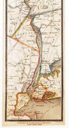 Historic Hudson River and Vicinity Map