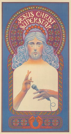 Jesus Christ Superstar poster David Byrd 1971