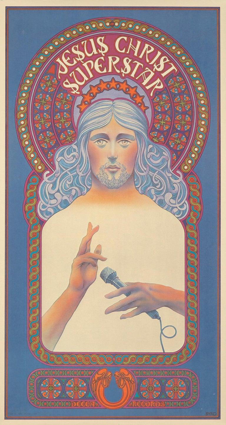 Jesus Christ Superstar poster David Byrd 1971   - Print by David Byrd