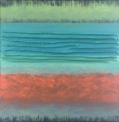 Adagio XXXV, Abstract Oil Painting