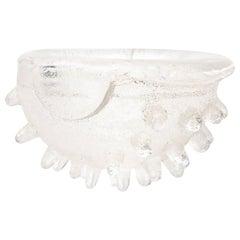 David Chatt Spiky Glass Sculptural Bowl