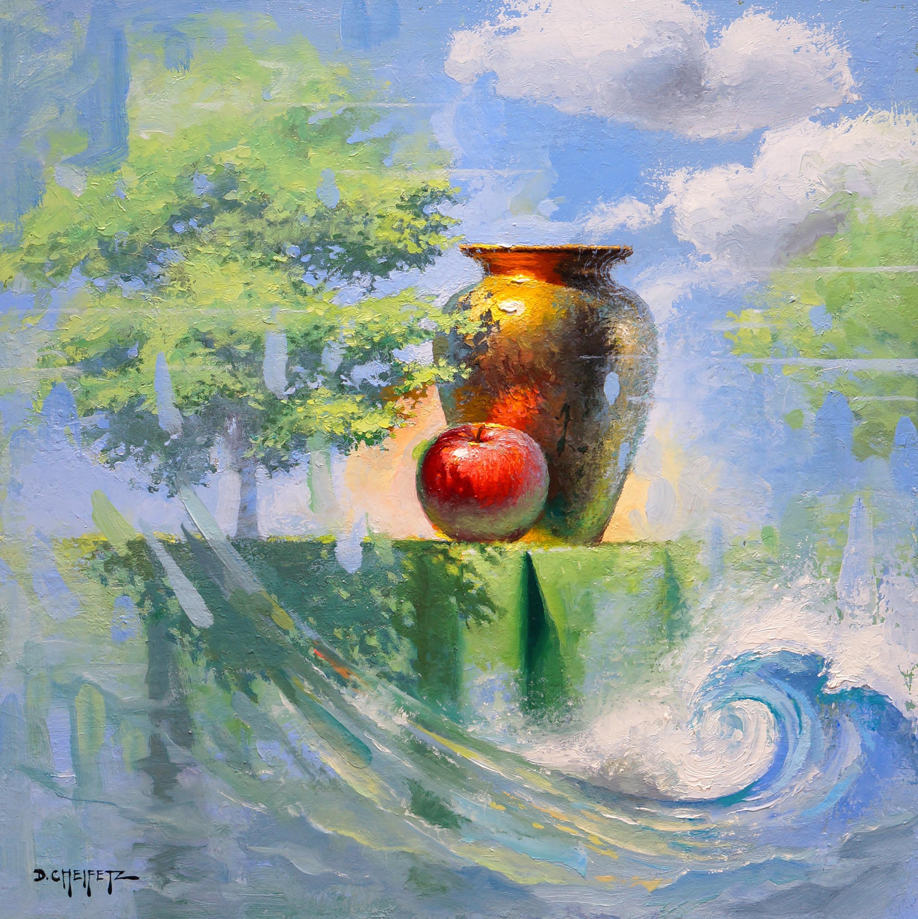 """""""Reverie,"""" Oil Painting"""