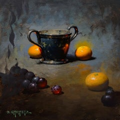 """""""Sweet and Silver"""" Oil Painting"""
