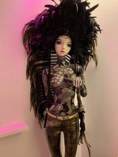 Pop Doll - Pop Art Free New Movement Doll Mannequin Acrylic Paints