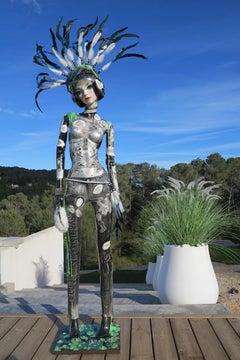 Pop Doll  - Pop Art Pop Free New Movement Mannequin Colors Acrylic Paints