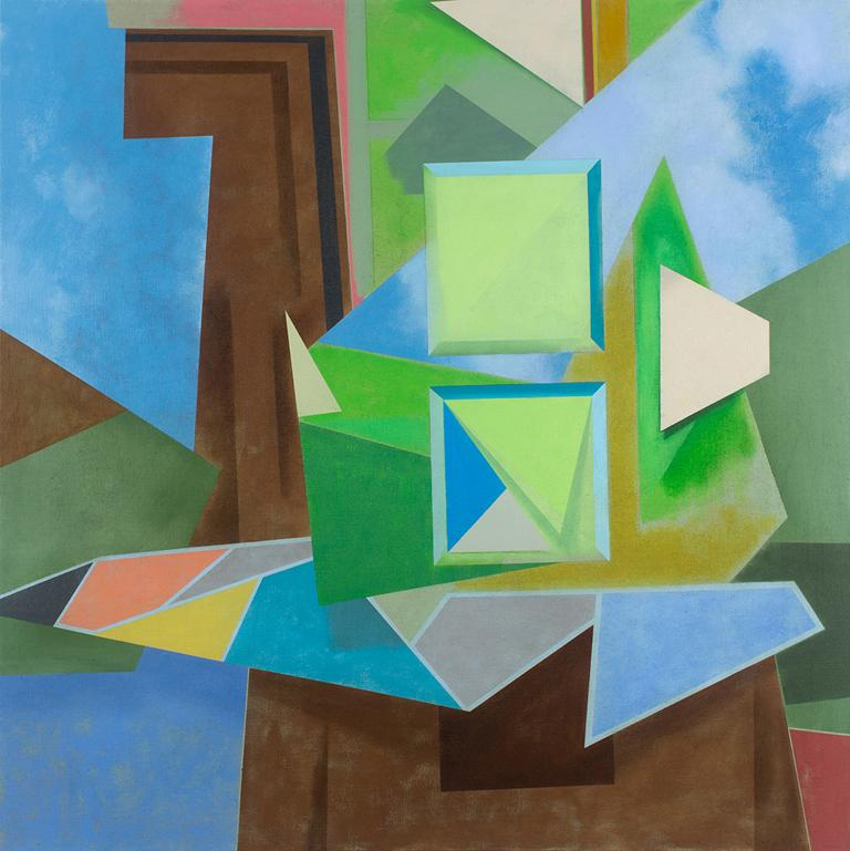 David Collins Abstract Painting - Day Shift