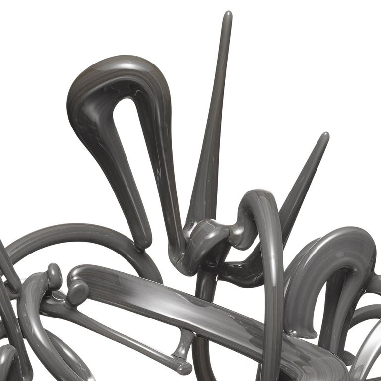 Untitled (Portland Gray) - Contemporary Sculpture by David Colton