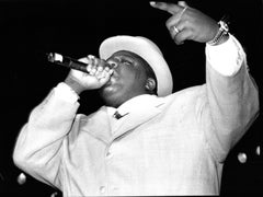 Notorious B.I.G. Performing IV Vintage Original Photograph