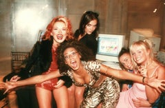 "The Spice Girls ""On-Line"" Vintage Original Photograph"