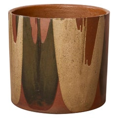 David Cressey Flame-Glaze Planter for Architectural Pottery