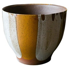 David Cressey for Architectural Pottery Flame Glaze Planter, circa 1970