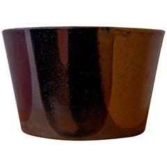 David Cressey for Architectural Pottery Flame Glaze Planter