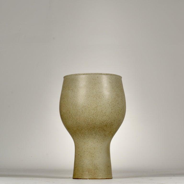David Cressey Glazed Chalice Planter For Sale 3