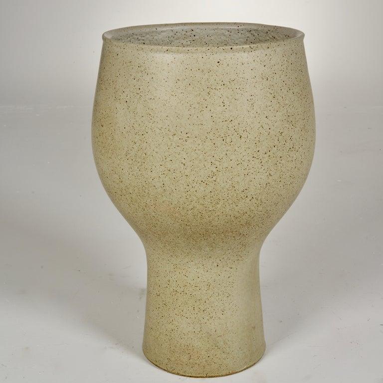 David Cressey Glazed Chalice Planter For Sale 1