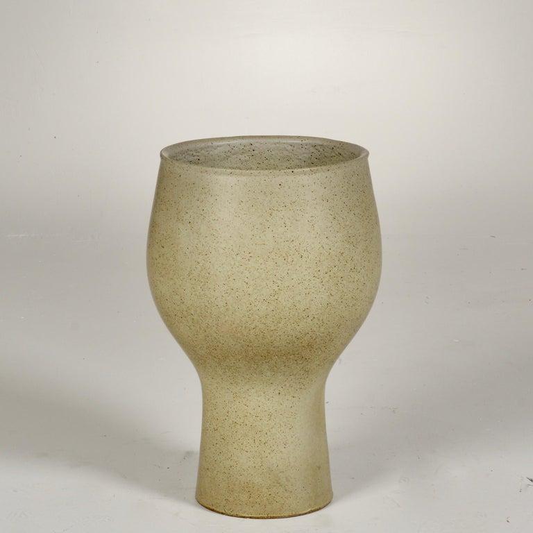 David Cressey Glazed Chalice Planter For Sale 2