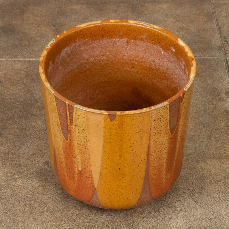 Mid-20th Century David Cressey LT-24 Flame-Glazed Planter for Architectural Pottery For Sale
