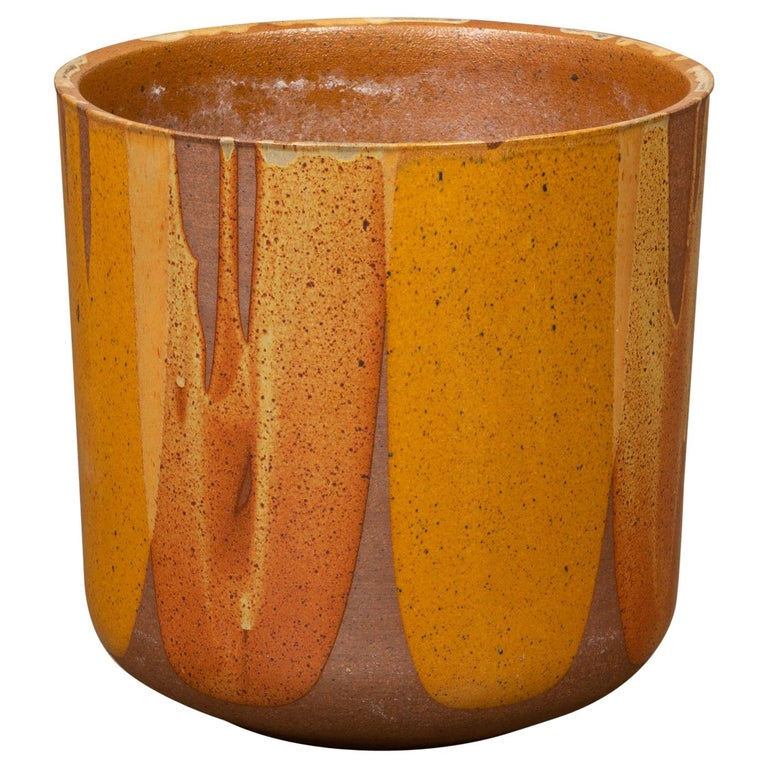 David Cressey LT-24 Flame-Glazed Planter for Architectural Pottery For Sale