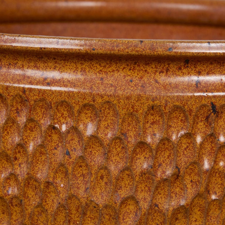 """Late 20th Century David Cressey & Robert Maxwell for Earthgender """"Thumbprint"""" Bowl Planter For Sale"""