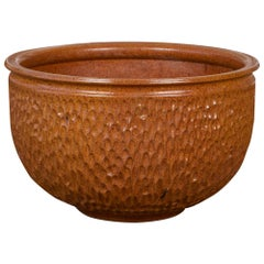 "David Cressey & Robert Maxwell for Earthgender ""Thumbprint"" Bowl Planter"