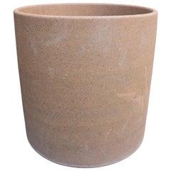 David Cressey Stoneware Cylinder for Earthgender, circa 1970