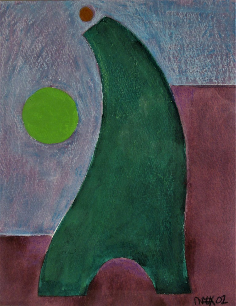 Geometric Figure #20 - Cubist Painting by Dave Fox