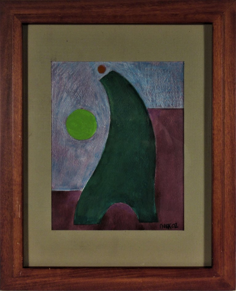 Dave Fox Abstract Painting - Geometric Figure #20