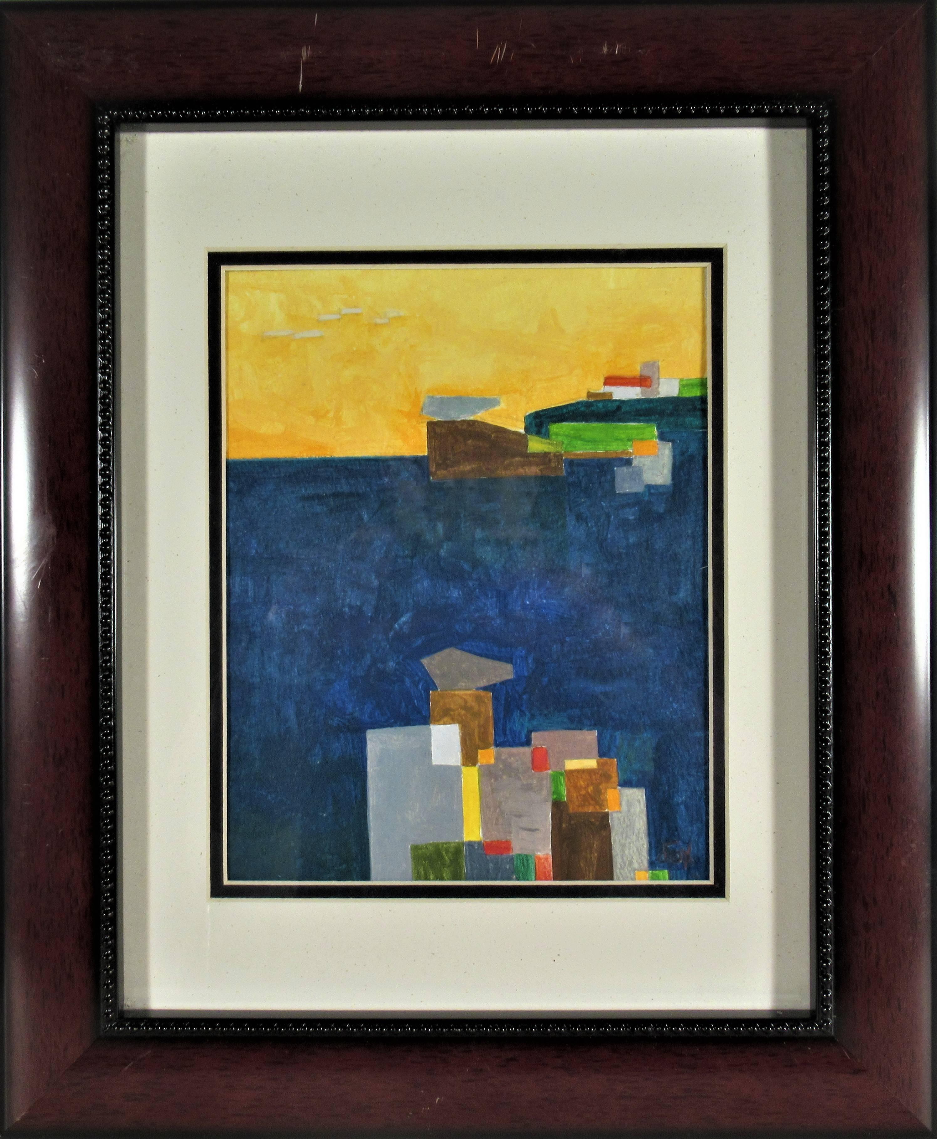 Seascape, Geometric Figure #2