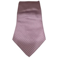 David & David Light purple / pink silk tie