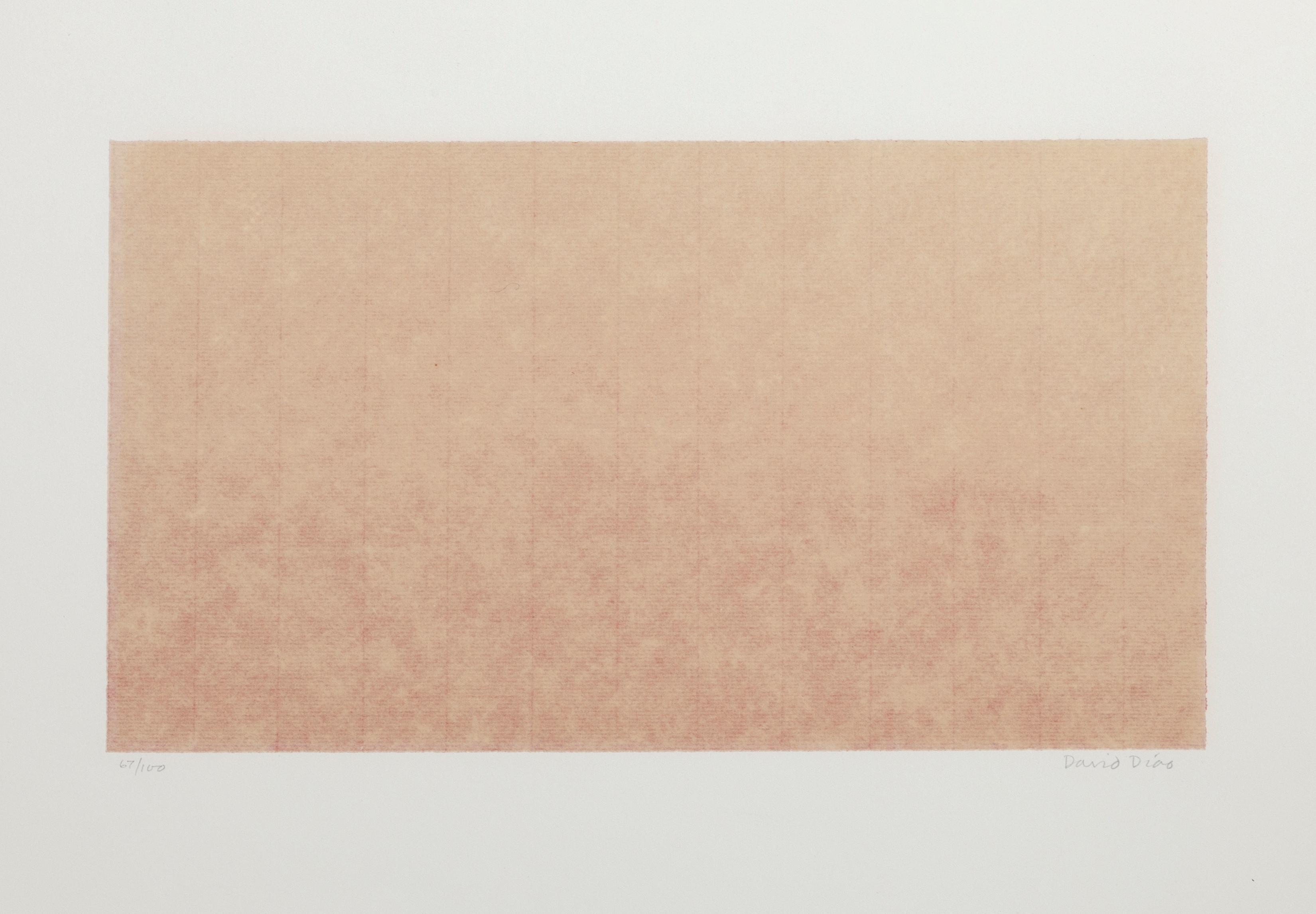 Minimalist Abstract from New York 10, David Diao 1969