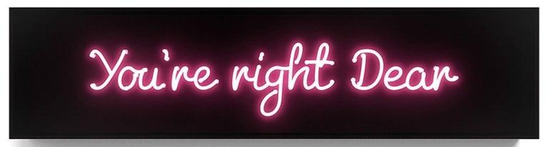 You're Right Dear - Art by David Drebin