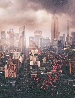 Balloons over NYC (Diamond Dust version)