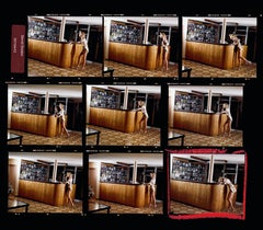 Movie Star contact sheet, Contemporary, Portrait, Photography, Celebrity