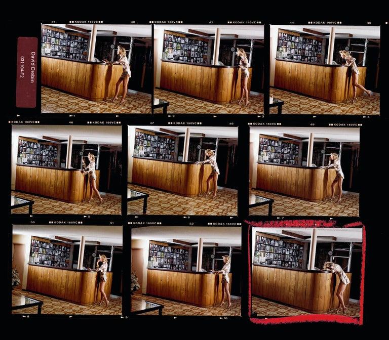 David Drebin Color Photograph - Movie Star contact sheet, Contemporary, Portrait, Photography, Celebrity