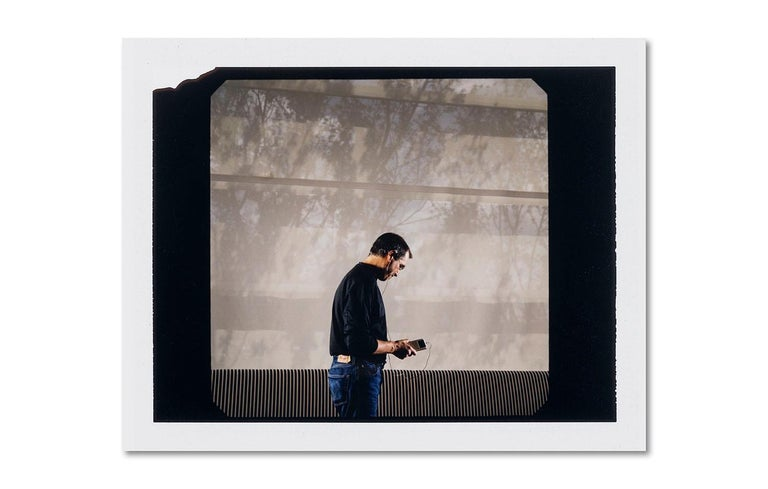 David Drebin Portrait Photograph - Steve Jobs Polaroid, Contemporary, Portrait, Photography, Celebrity