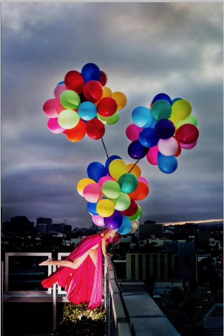 David Drebin Color Photograph - Swept Away 2018