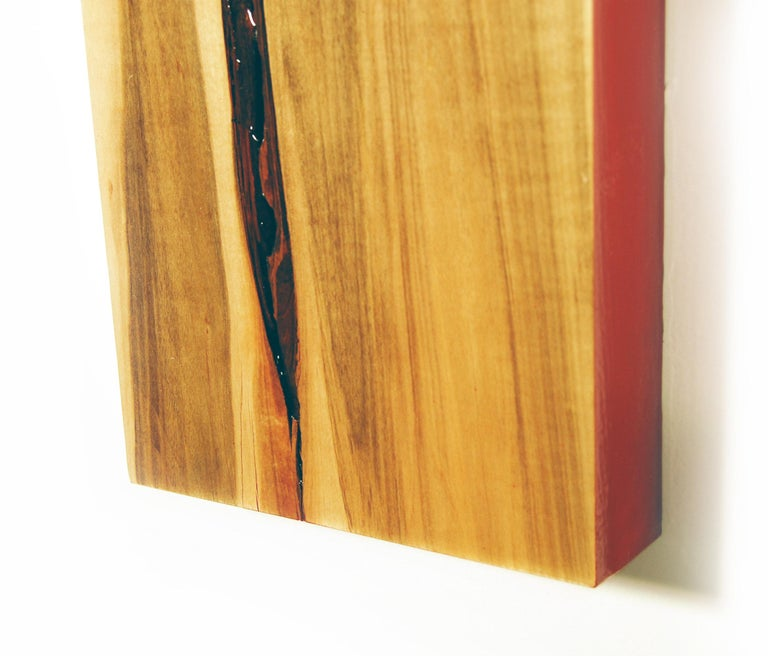Puzzle 97, David E. Peterson, Contemporary Colorful Wooden Wall Sculpture For Sale 2