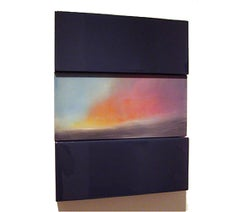 Sunrise Rincon PR David E. Peterson, Contemporary Colorful Wooden Wall Sculpture