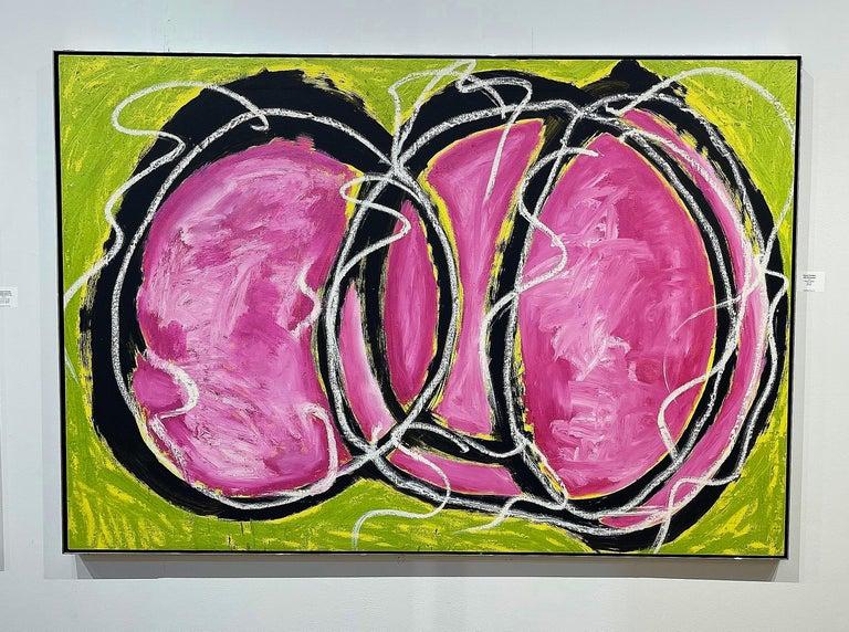 David Einstein Abstract Painting - Wabi Sabi Gestures